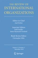 The Review of International Organizations 3/2018