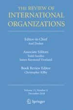 The Review of International Organizations 4/2018