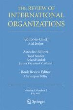 The Review of International Organizations 2/2011