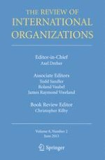 The Review of International Organizations 2/2013
