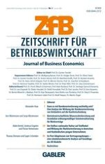 Journal of Business Economics 1/2009