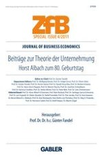 Journal of Business Economics 4/2011