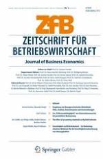 Journal of Business Economics 1/2012