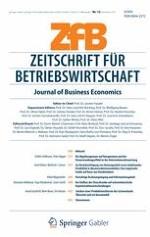 Journal of Business Economics 12/2012