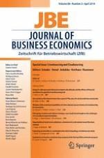 Journal of Business Economics 3/2014
