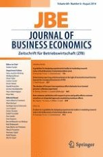Journal of Business Economics 6/2014