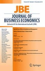 Journal of Business Economics 9/2014