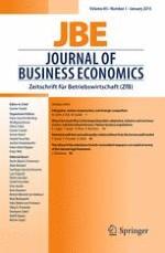 Journal of Business Economics 1/2015
