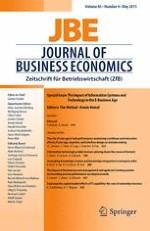 Journal of Business Economics 4/2015