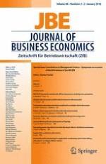 Journal of Business Economics 1-2/2016