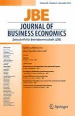 Journal of Business Economics 8/2016