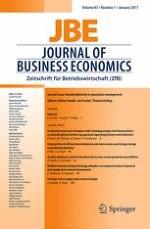 Journal of Business Economics 1/2017