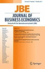 Journal of Business Economics 7/2017