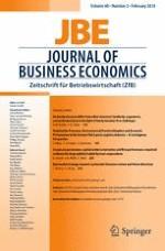 Journal of Business Economics 2/2018