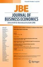 Journal of Business Economics 5/2018
