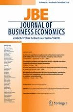 Journal of Business Economics 9/2018