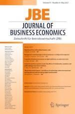 Journal of Business Economics 4/2021