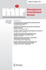 Management International Review 6/2007