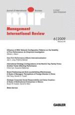 Management International Review 6/2009
