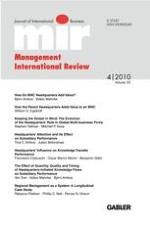 Management International Review 4/2010