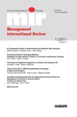 Management International Review 1/2011