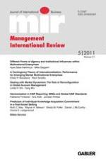 Management International Review 5/2011