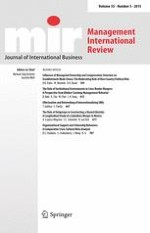 Management International Review 5/2015