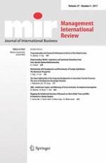 Management International Review 4/2017