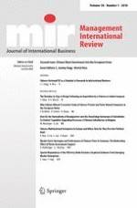 Management International Review 1/2018