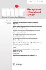 Management International Review 2/2018