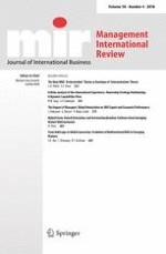 Management International Review 4/2018