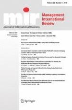 Management International Review 5/2018