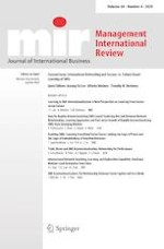 Management International Review 4/2020