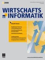 WIRTSCHAFTSINFORMATIK 4/2008