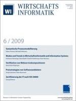WIRTSCHAFTSINFORMATIK 6/2009