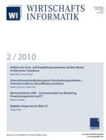 WIRTSCHAFTSINFORMATIK 2/2010