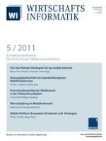 WIRTSCHAFTSINFORMATIK 5/2011