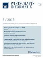 WIRTSCHAFTSINFORMATIK 3/2013