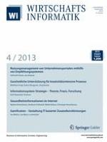 WIRTSCHAFTSINFORMATIK 4/2013