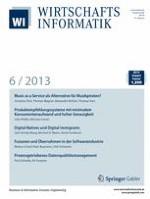 WIRTSCHAFTSINFORMATIK 6/2013