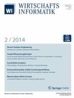 WIRTSCHAFTSINFORMATIK 2/2014