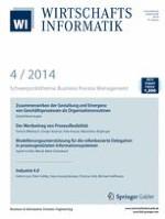 WIRTSCHAFTSINFORMATIK 4/2014