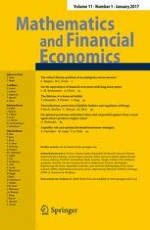 Mathematics and Financial Economics 1/2017