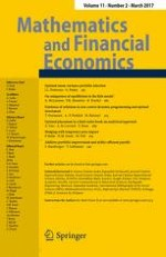 Mathematics and Financial Economics 2/2017