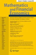 Mathematics and Financial Economics 1/2018