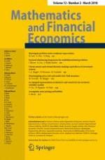 Mathematics and Financial Economics 2/2018