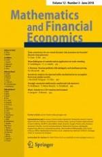 Mathematics and Financial Economics 3/2018