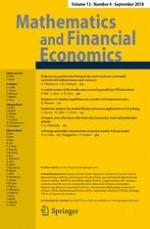 Mathematics and Financial Economics 4/2018
