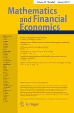 Mathematics and Financial Economics 1/2019