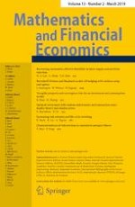 Mathematics and Financial Economics 2/2019